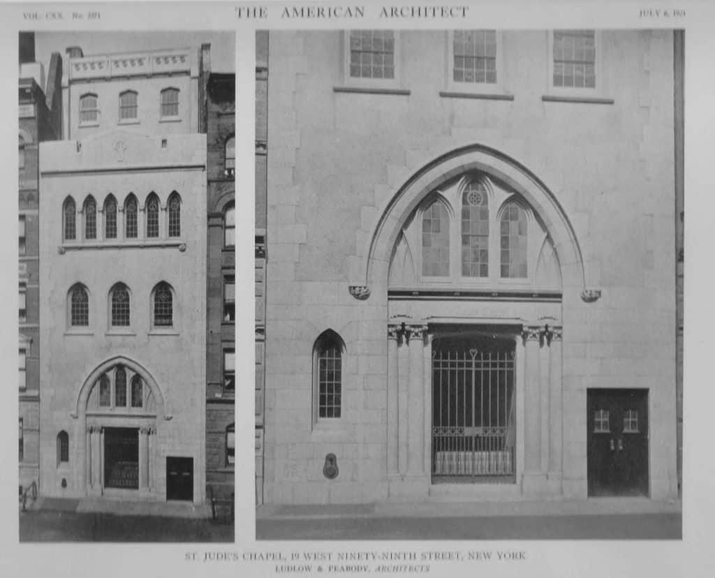St. Jude's Chapel 1923 photograph
