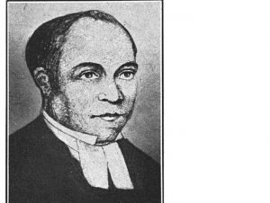Reverend Peter Williams Jr, St. Philip's First Rector 1826-1840