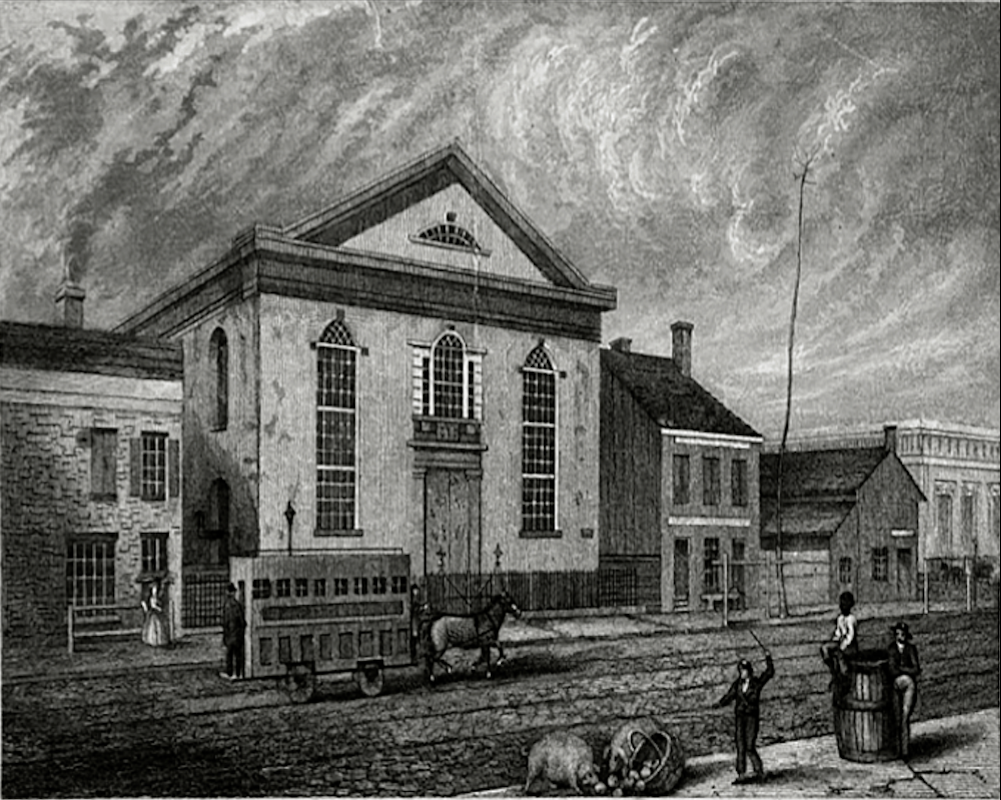 St. Philip's Church prior to move to Harlem